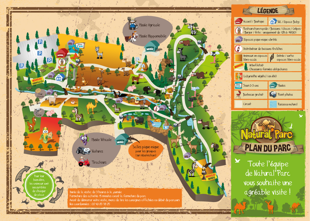 Download the brochure and map - Natural Parc on map for program, map for pamphlet, map for invitation,